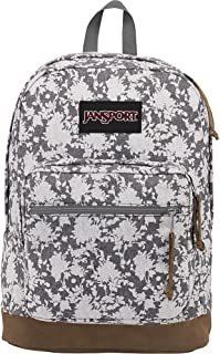 JanSport Derecho Pack Expresiones, Grey Heathered Floral, Talla única