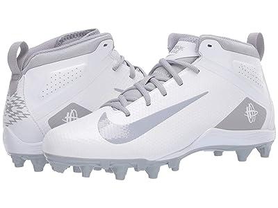 Nike Alpha Huarache 7 Varsity Lax (White/Wolf Grey/White) Men