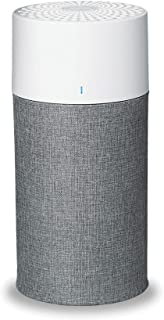 Blueair Air purifier With Particle & Carbon Filter, With AQM & Washable Pre-Filters, Which Captures Allergens, Odors, Smok...