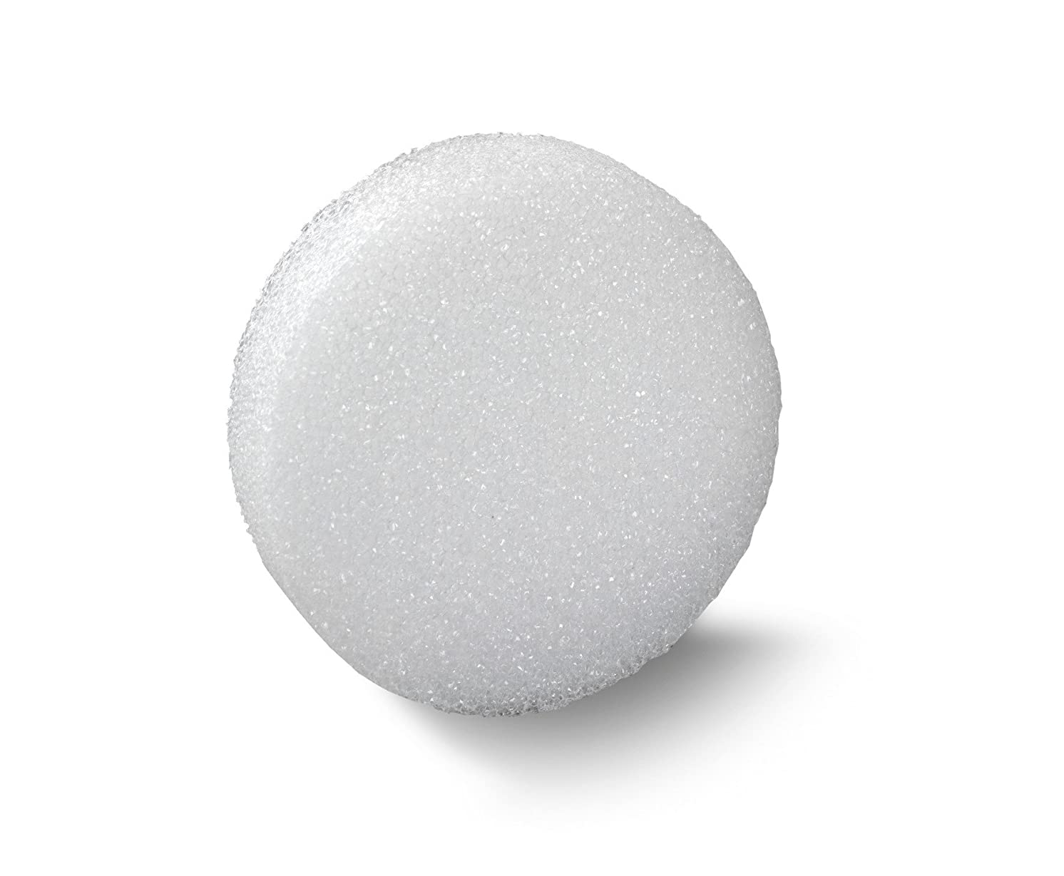 FloraCraft Styrofoam Disc 1.1 Inch x 8.8 Inch White