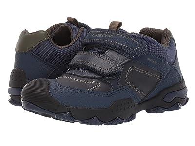 Geox Kids Jr Buller Babx 1 (Little Kid/Big Kid) (Blue/Green) Boys Shoes