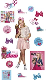 FATHEAD JoJo Siwa-Life-Size Officially Licensed Nickelodeon Removable Wall Decal, Premium - with Ancillary