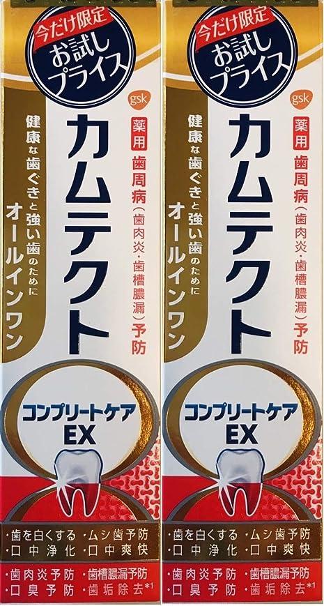 容赦ない数字生命体【まとめ買い2個】カムテクトコンプリートケアEX