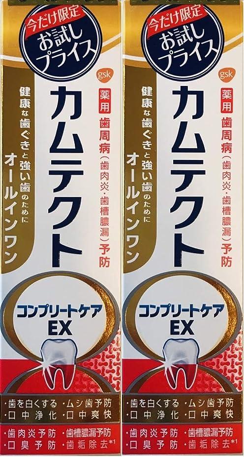 分泌する海藻終点【まとめ買い2個】カムテクトコンプリートケアEX