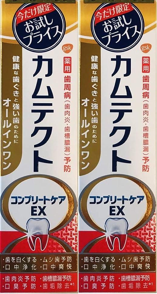 巨大ファイター検出する【まとめ買い2個】カムテクトコンプリートケアEX