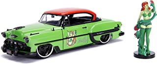 "Jada Toys DC Comics Bombshells Poison Ivy & 1953 Chevy Bel Air Die-cast Car, 1:24 Scale Vehicle, 2.75"" Collectible Figurine 100% Metal, Green"