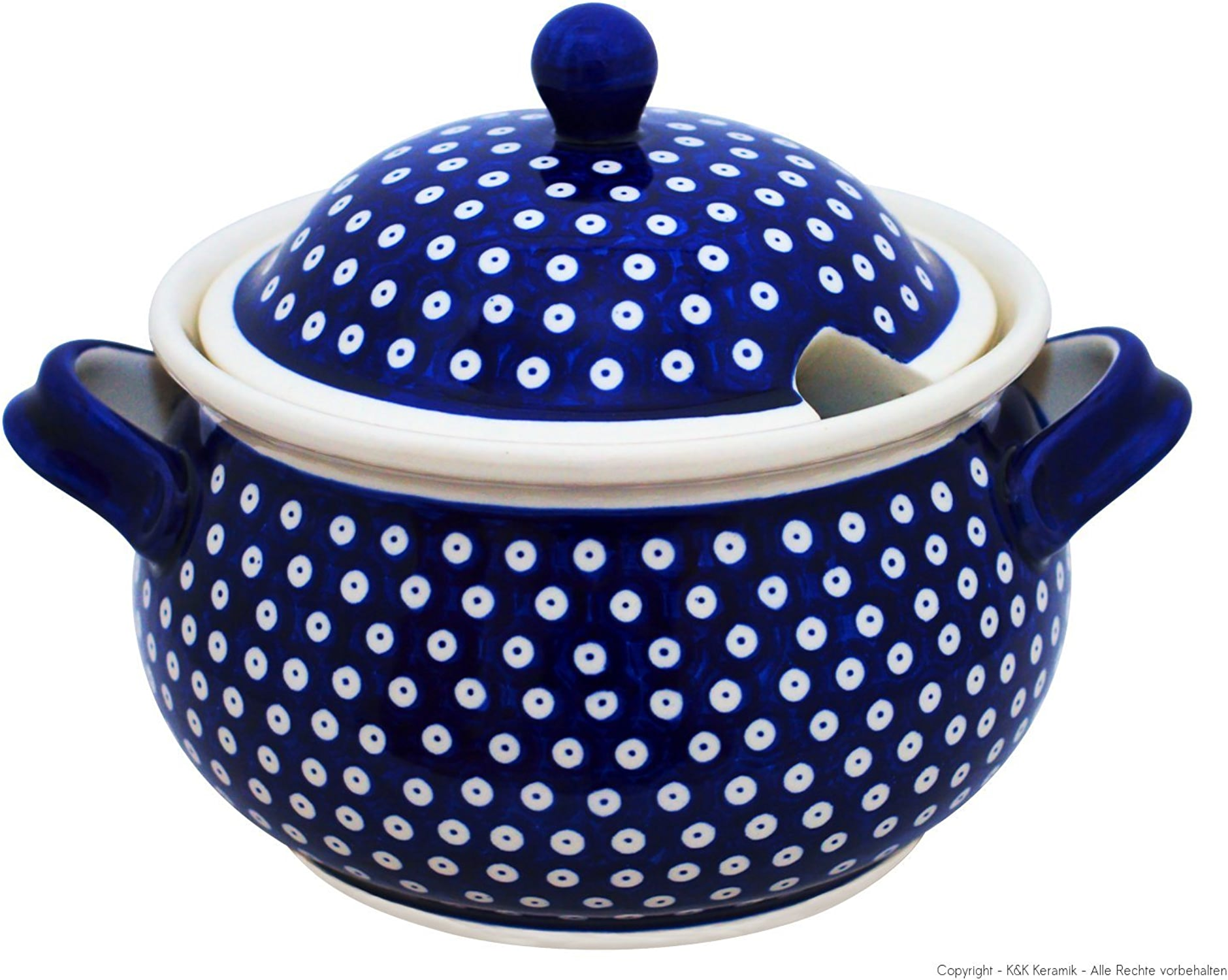 Boleslawiec Pottery Soupière en céramique Motif 42 - 4,5 L