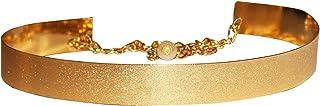 AyA Fashion Gold Plated Metal Kamarbandh Waist Belt for Women (Free Size)