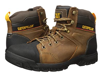 Caterpillar Wellspring Waterproof Metatarsal Guard Steel Toe (Real Brown Leather) Women