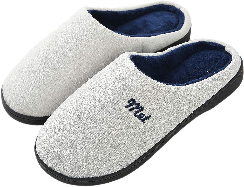Men's Women's Memory Foam Slippers L Max 43% OFF Wool-Like Fleece Plush Cozy service