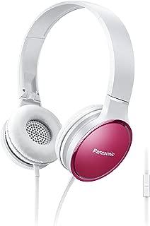 Panasonic Stereo Headphone, Pink - Rp-Hf300Me-P, Standard