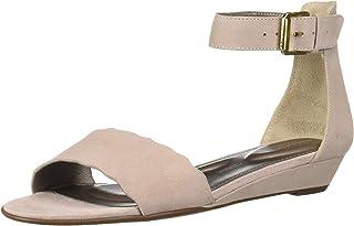 Rockport Women's Tm Zandra Curve ANK Wedge Sandal