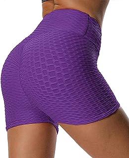 FITTOO Pantalones Cortos Deportivos Leggings Mujer Yoga de