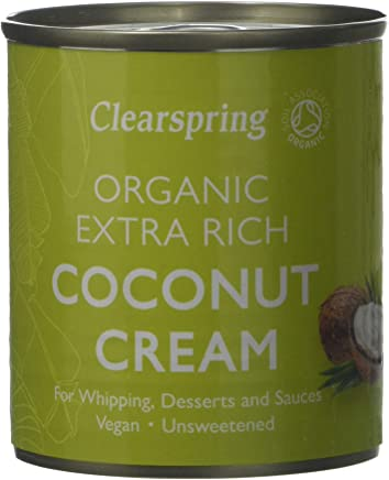 Clearspring Clearspring Organic Coconut Cream 30% Fat(Pack of 6)