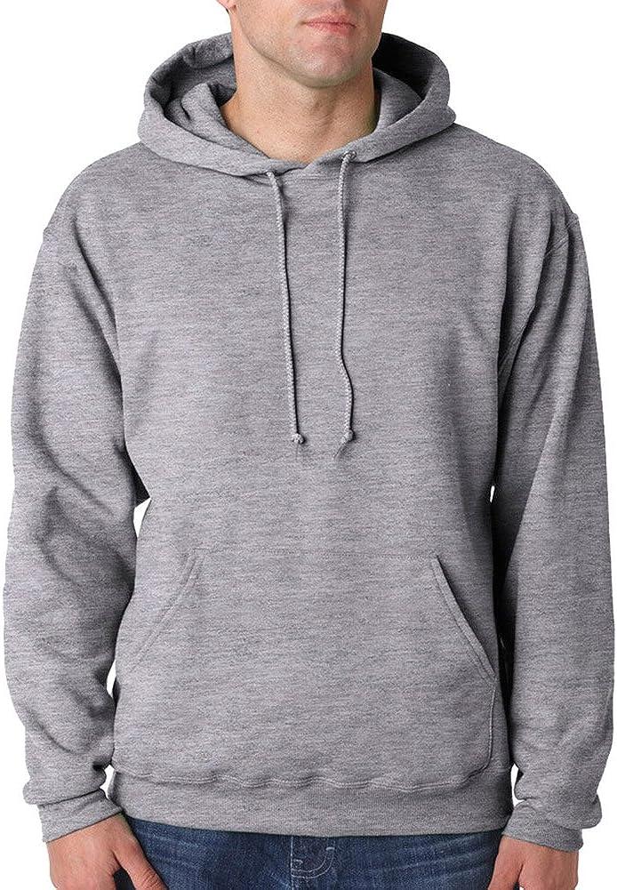 Jerzees Tall 8 oz., 50/50 NuBlend Fleece Pullover Hood (996MT)- OXFORD,3XLT