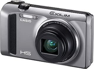 Casio High Speed Exilim Ex-ZR400 Digital Camera Silver EX-ZR400SR - International Version (No Warranty)