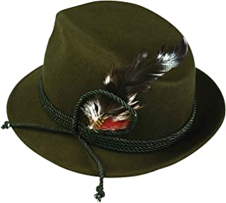 Forum Novelties German Bavarian Alpine Oktoberfest Hat – One Size - green - One Size