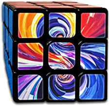 EYFlife Colorful Spiral 3x3 Rubik Smart Cube Smooth Magic Cube Sequential Puzzle