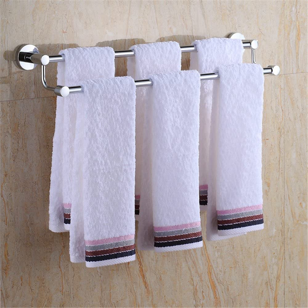 MBYW high Dedication Load-Bearing Towel Rack Bathroom Directly managed store Storage Rail Sh