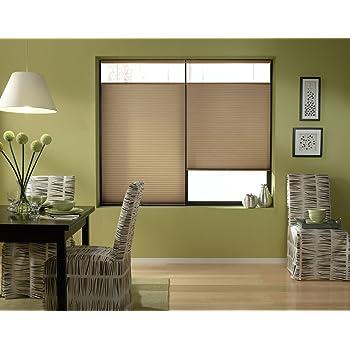 Light Filtering Cellular Shade Linen Avenue Custom Cordless 18 1//2 W x 30 to 36 H Platinum Top Down Bottom Up TDBU