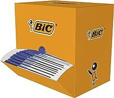 BIC Kugelschreiber Cristal Original, in Blau, Strichstärke 0,4 mm, 150er Pack, Ideal für das Büro, das Home Office oder...