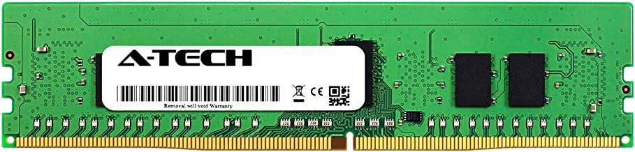 A-Tech 8GB Module for Dell PowerEdge R730 - DDR4 PC4-21300 2666Mhz ECC Registered RDIMM 1Rx8 - Server Specific Memory Ram (AT316643SRV-X1R10)