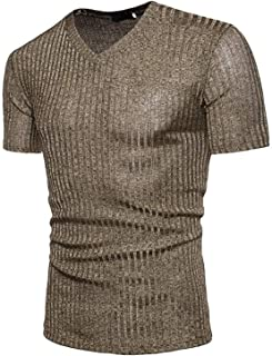 Quick-Dry Tops, Men Fashion Sports T-Shirt African Printed V Neck Pullover Short Sleeved Soccor T Shirt Fitness Casual Tops