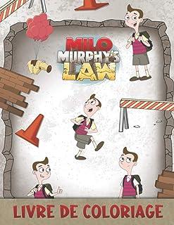 Milo Murphy's Law Livre De Coloriage: Grand livre de coloriage pour enfants, tout-petits, enfants d'âge préscolaire