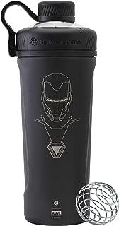BlenderBottle Marvel Comics Radian Insulated Stainless Steel 26-Ounce Shaker Bottle, Iron Man