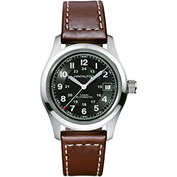 Hamilton Khaki Automatic Movement Black Dial Men's Watch H70455533