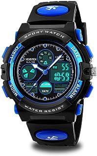 Kids Digital Sport Watch, Boys Girls Waterproof Sports Outdoor Watches Children Casual..