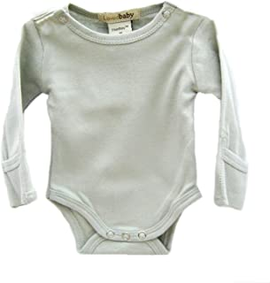L'ovedbaby Gloved-Sleeve Bodysuit, Green Newborn (up to 7 lbs.)
