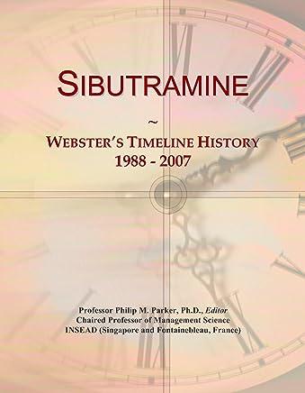 Sibutramine: Websters Timeline History, 1988 - 2007