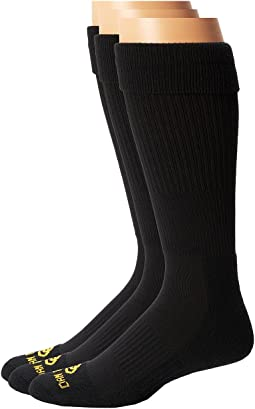 Dan Post - Dan Post Cowboy Certified Over the Calf Socks 3 Pack