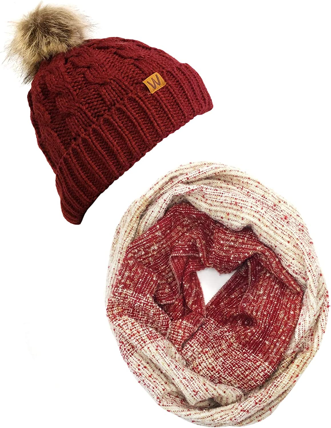 Wrapables Warm Fall and Scarf Regular dealer Winter Directly managed store Infinity