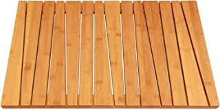 ToiletTree Products 100% Natural Bamboo Deluxe Shower Floor and Bath Mat, Skid Resistant, Heavy-Duty