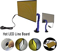 MMPP Paintless Dent Repair LED Line Board Double Stripe Reflector Board With Adjustment Holder Light Line Board For Dent Repair