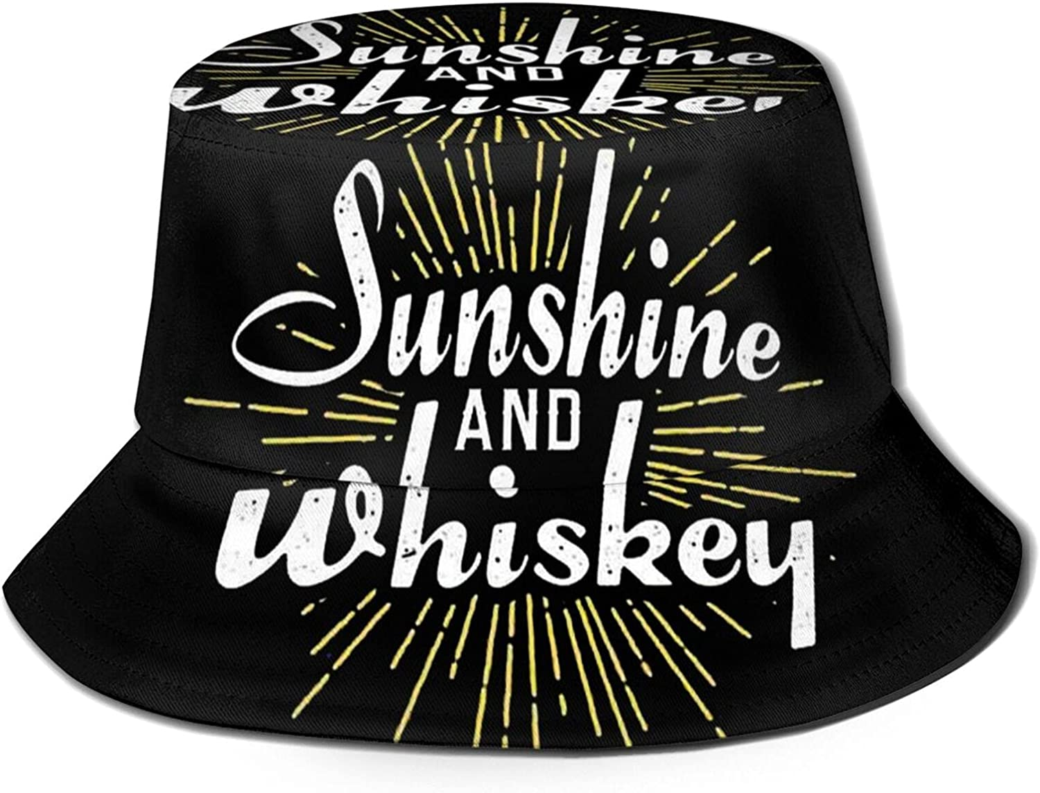 Sunshine Max 78% OFF and Whiskey Bucket Hat Challenge the lowest price Sun Unisex Packable F Summer