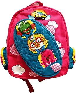 Kids Backpack Children Preschool Bag POYOYO Printing Twill Cotton School Travel Bag for Girls Boys
