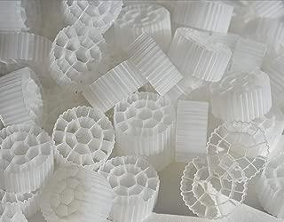2 Cubic Foot K3 Filter Media Moving Bed Biofilm Reactor (MBBR) for Aquaponics • Aquaculture • Hydroponics • Ponds • Aquariums by Wholesale Koi Farm (2 Cubic Feet)