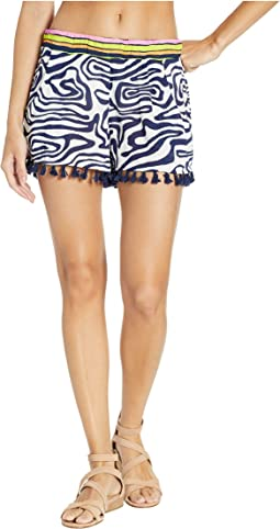 Zebra Shorts Cover-Up