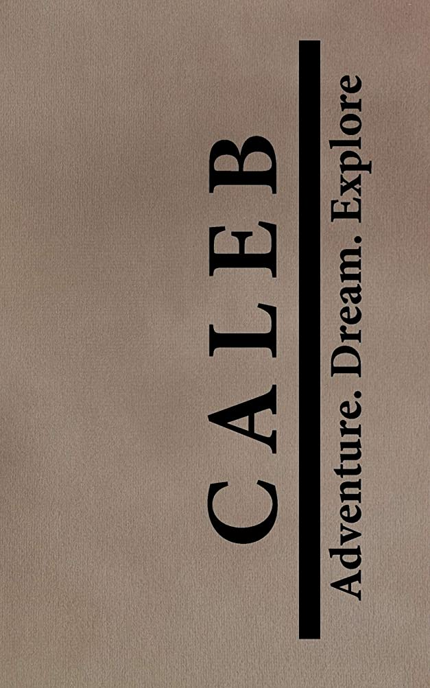 状態反動豊富なCaleb Adventure Dream Explore: Personalized Journals for Travelers