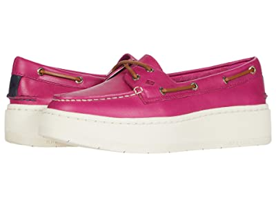 Sperry A/O Platform Leather (Baton Rouge) Women
