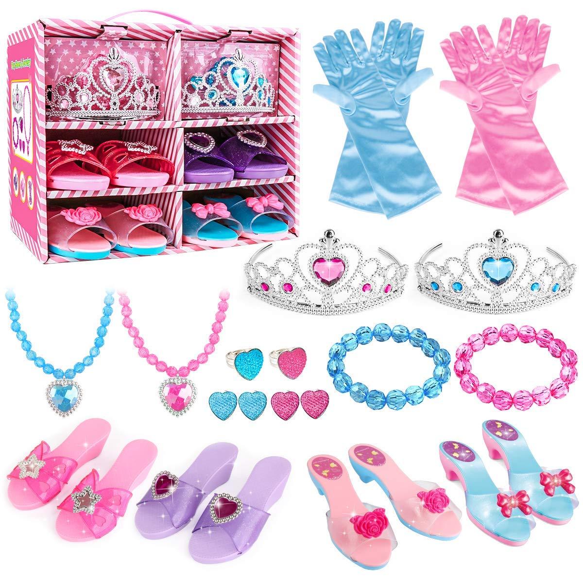 Meland Princess Dress Up Shoes and