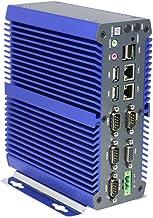 Industrial PC Rugged Computer IPC Mini PC Windows/Linux with Intel I5 7200U 4 COM 9 to 36V Wide Voltage 2 Intel LAN 3G 4G WiFi Support SIM Slot 16G RAM 240G SSD 1TB HDD I10