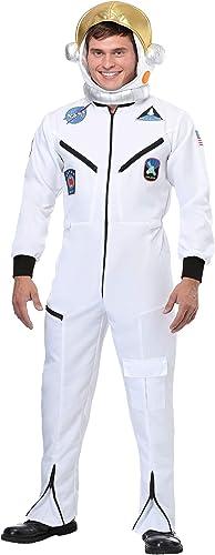 Descuento del 70% barato Adult blanco blanco blanco Astronaut Jumpsuit Fancy dress costume X-grande  ofreciendo 100%