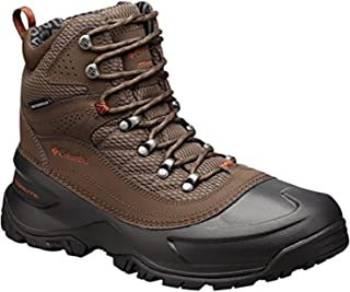 Men's Snowcross Mid Thermal Coil Waterproof Leather Snow...