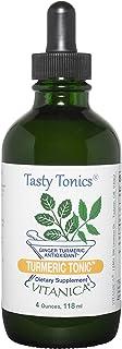 Sponsored Ad - Vitanica, Turmeric Tonic, Organic Liquid Turmeric Curcumin Supplement 1000 mg, with Black Pepper and Ginger...