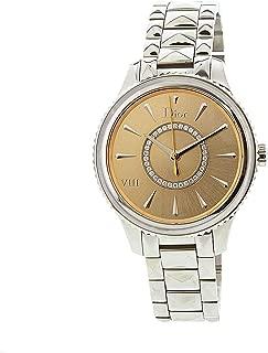 Dior Women's Montaigne CD152110M006 Silver Stainless-Steel Quartz Dress Watch