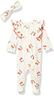 Jessica Simpson Girls' Baby and Toddler Footie